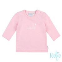 Foto van Shirt ls 'giraffe' Feetje girls pink