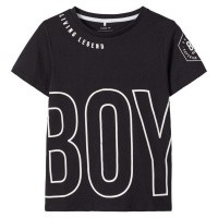Foto van Bonas shirt ls Name It kids boys black