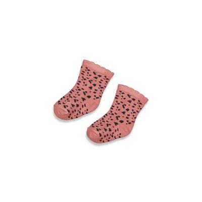 Sokjes 'full of love' Feetje girls terra pink aop