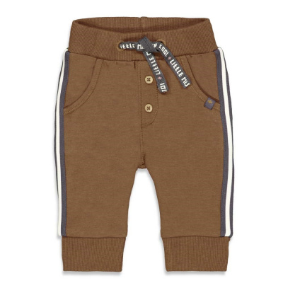 Broek 'cool adventure' Feetje boys brown melange