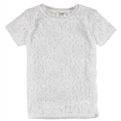 T-shirt kant Garcia girls off white