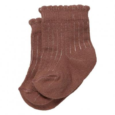 Brooke sokken LEVV mauve
