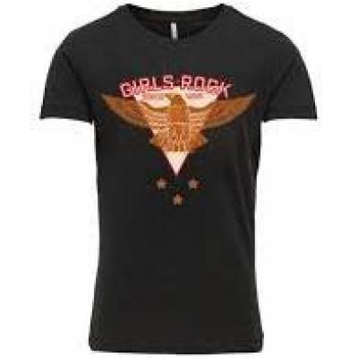Veronica Kids Only Shirt girls black/eagle