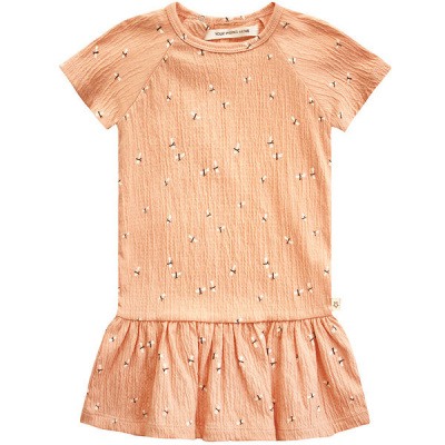Dragonfly jurk ss Your Wishes girls peach