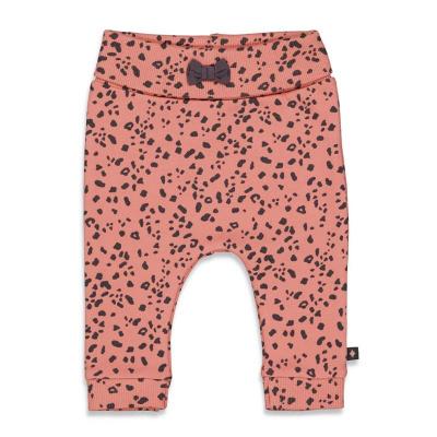 Broek 'full of love' Feetje girls terra pink