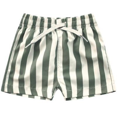 Bold zwemshort Your Wishes boys old green stripe