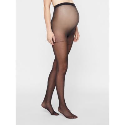 Panty 20 DEN 2-pck Mamalicious black