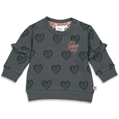Sweater 'full of love' Feetje girls antra