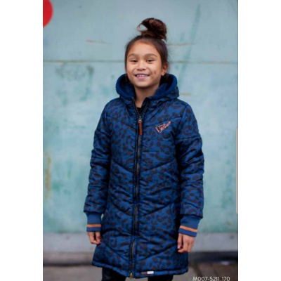 Winterjas Moodstreet girls navy