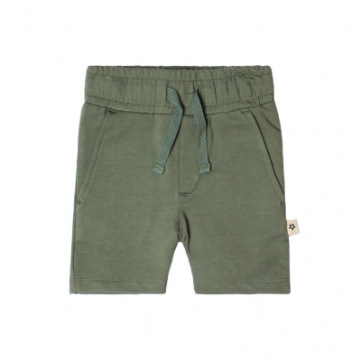 Solid sweat short Your wishes boys old green