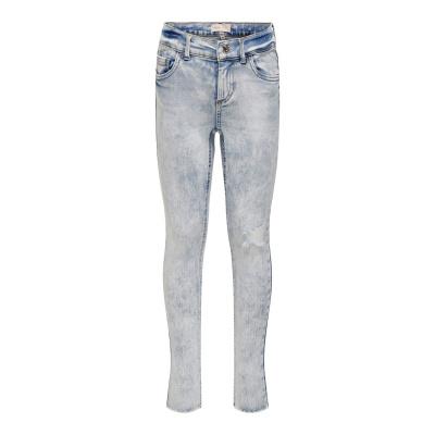 Blush Skinny Jeans 0918 Kids Only girls raw light blue