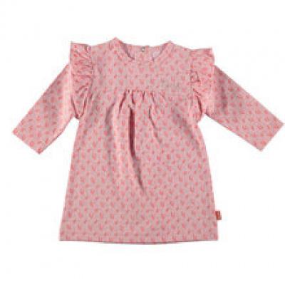 B.E.S.S Baby Jurk girls flower ruffles pink