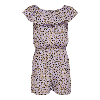 Lino KIds Only Jumpsuit girls lavender/leo