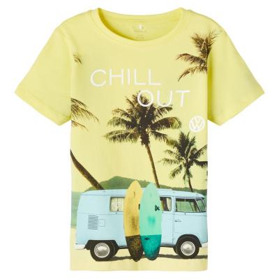 Tomas Name It Kids Shirt boys lemon verbena