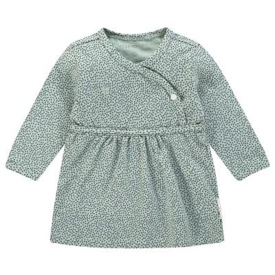 Mattie jurk Noppies baby girls NOS grey mint