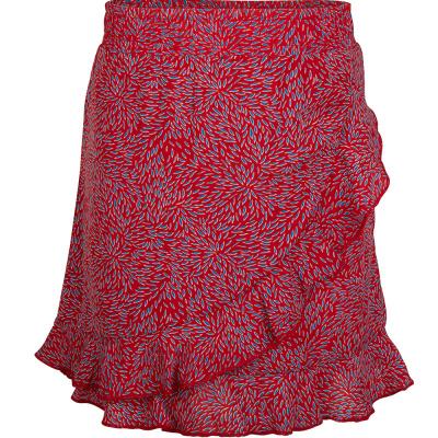 IBJ Rok Ruffle girls rose red