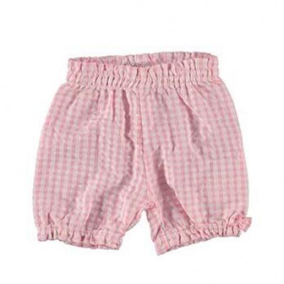 B.E.S.S Vichy Baby Short girls pink