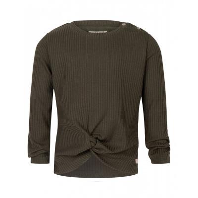 Shirt Daily7 Rib girls thyme green