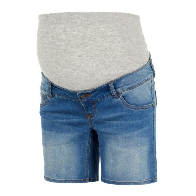 Fifty jeans short Mamalicious medium blue