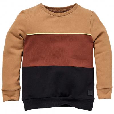 Sieger Levv Mini Sweater boys brown sand