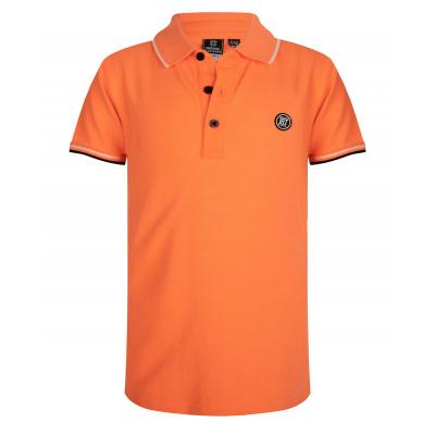 Basic polo IBJ boys bright orange