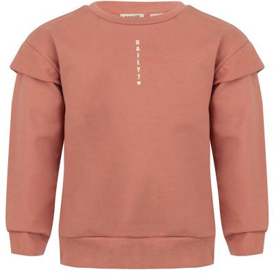 Sweater Daily7 girls brick dust