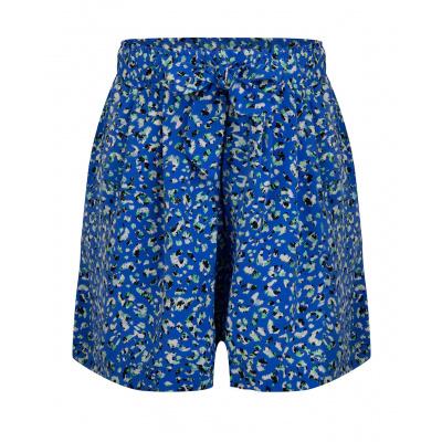 IBJ Panter Short girls blue panter print