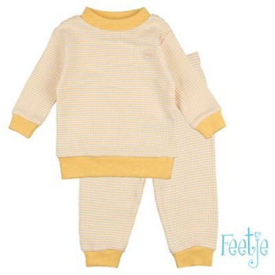 Pyjama Feetje yellow