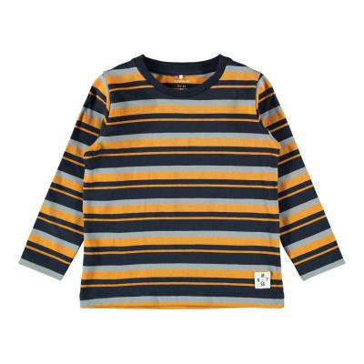 Logan longsleeve Name It mini boys dark sapphire/stripe