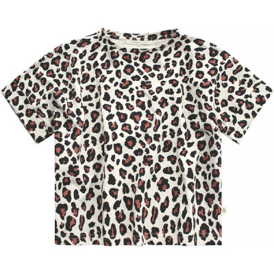 Leopard loose t-shirt Your Wishes girls terra