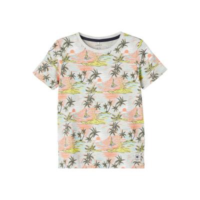 Jabriel t-shirt Name It kids boys lemon verbena