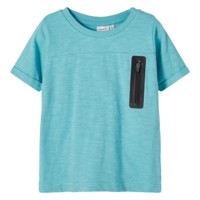 Jesper Name It Mini Shirt boys aqua