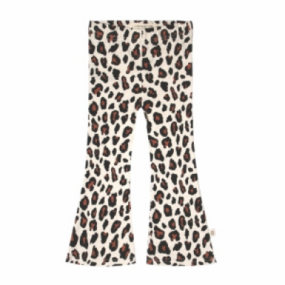 Leopard flared legging Your Wishes girls terra