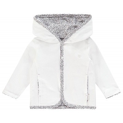 Haye vest reversible Noppies NOS white