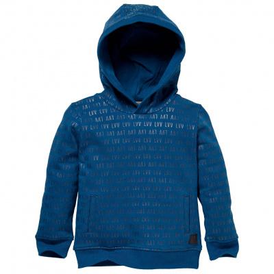 Sidney Levv hoodie boys mini blue sea