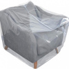Foto van Plastic meubelhoezen 180 x 130 cm - LDPE transparant 50 my