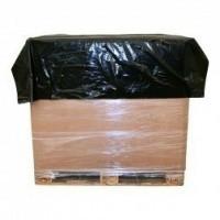LDPE topvellen 150x180 cm - zwart 30 my