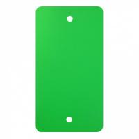 PVC labels groen - 64 x 118 mm
