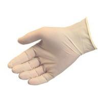 Vinyl handschoen poedervrij wit, maat XL