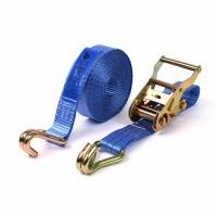 Spanband 35 mm - 2-delig met ratel en haken 0.5 + 6.5 mtr.