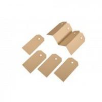 Kartonnen labels - 30 x 60 mm, 200 gr/m²