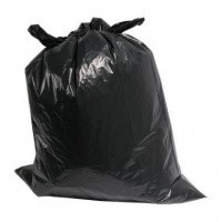 Afvalzakken LDPE zwart - 70 x 110 cm x 40 my