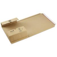 Wikkelverpakking bruin A5 - 217 x 155 mm