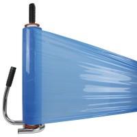 Handwikkelfolie blauw - 50cm x 300mtr. x 20my