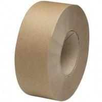 Papieren tape bruin - 50 mm x 50 mtr.