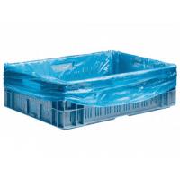Kratzakken - 68 x (2x17) x 63 cm x 20 my blauw