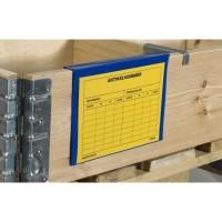 Documenthouder palletrand - A5 liggend