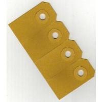 Kartonnen labels - 60 x 120 mm, 225 gr/m²