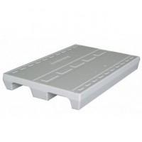 EPS pallet 80x120 cm 2-weg - wit + nieuw