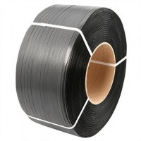 PP Omsnoeringsband zwart 12 mm x 0,55 mm x 3000 mtr. - kern 206